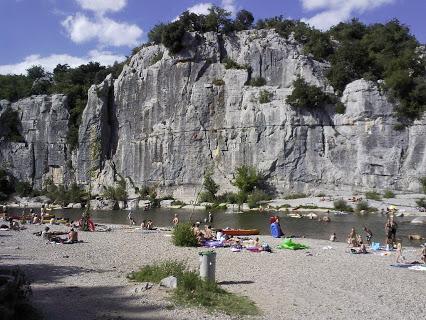 Camping Chaulet- Plage 3 étoiles à Casteljau