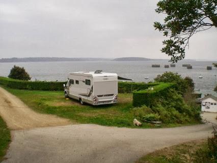 Camping De La Cale 2 étoiles à Lanvéoc