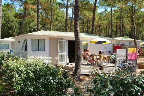 Camping De La Côte D'Argent 5 étoiles à Hourtin