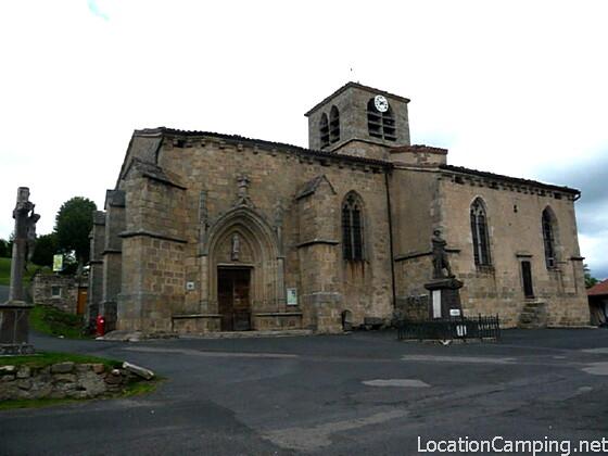 Eglise saint antoine le monestier monument historique le monestier 63890 pa00092190 - Office de tourisme saujon ...